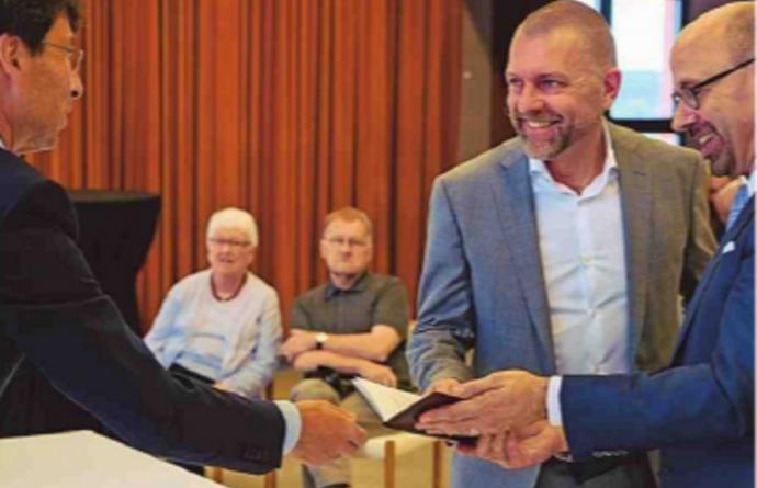 Vlaams Volksvertegenwoordiger Piet De Bruyn (N-VA) trouwt op Vlaamse feestdag