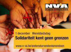 Wereldaidsdag 2016 - Solidariteit kent geen grenzen - Piet De Bruyn