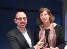 Piet De Bruyn en Petra De Sutter - Opiniestuk no hate