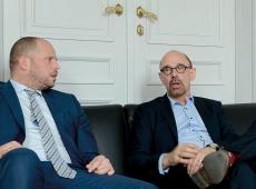 Theo Francken en Piet De Bruyn