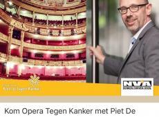 Met Piet De Bruyn naar Kom Opera Tegen Kanker van de Vlaamse Opera - Kom op tegen kanker
