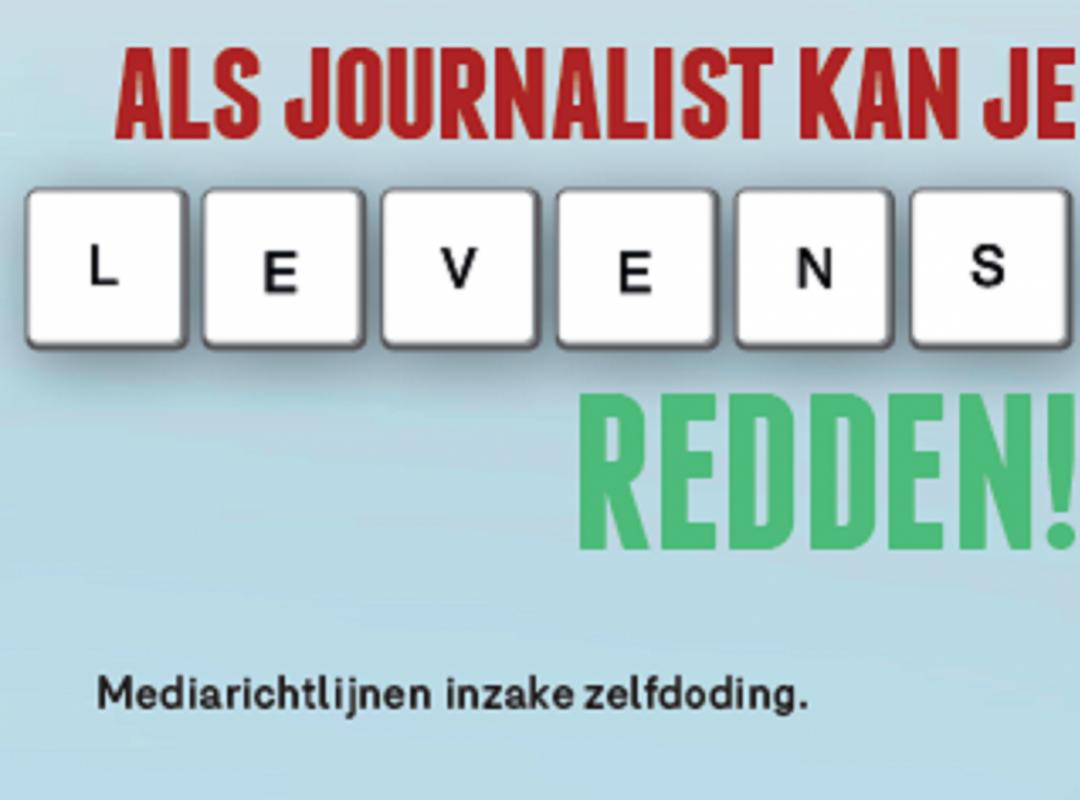 'Hoe berichten over zelfdoding' in opleiding journalistiek? - Piet De Bruyn