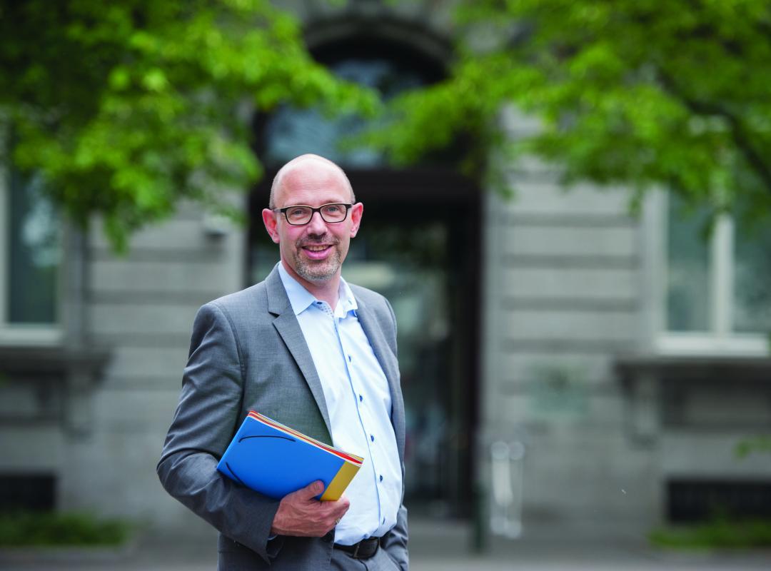 Vlaams parlementslid Piet De Bruyn lijsttrekker voor N-VA in Rotselaar
