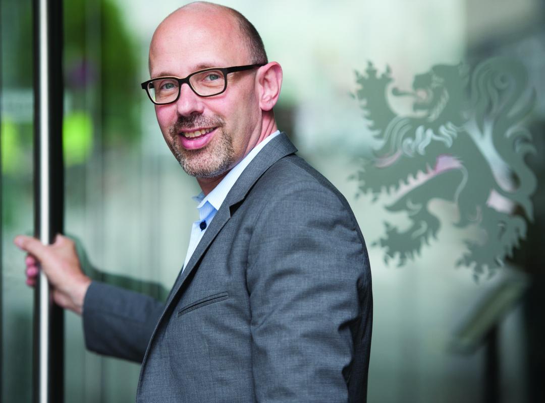 Piet De Bruyn van N-VA kandidaat-burgemeester Rotselaar